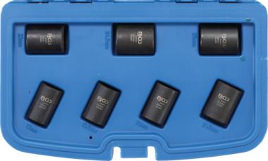 Special Socket Set / Screw Extractors 12.5 mm (1/2) Drive 17 - 26 mm 7 pcs.