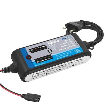 Battery charger 6V/12V 2-4Amp. 9 step charging cycle LiFePO4