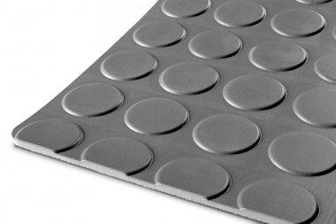 Rubber per running meter 1mx1200mmx3mm nop grey