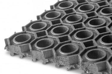 Epdm on roll 9.24m x 1000mm x 13mm ring mat black
