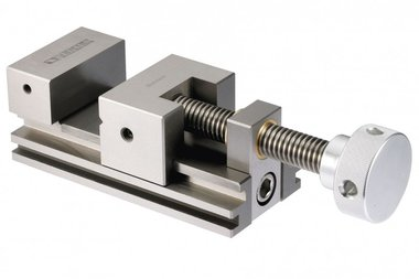 Precision measuring / grinding clamp with screw spindle