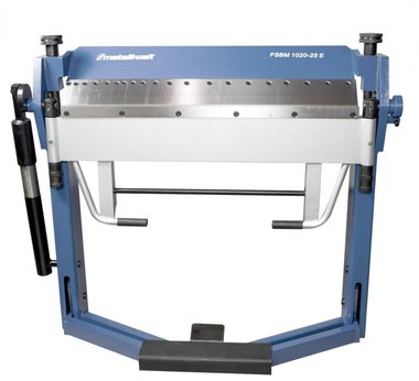 Bending bench 1020mm - segmented upper blade