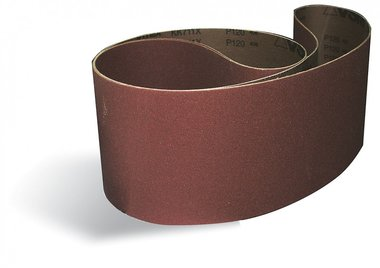 Sanding belts metal / wood 150x2000mm x10 stuks