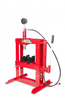 Hydraulic table press manual 10 tons