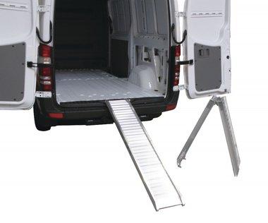 Alu ramp foldable 200kg