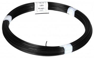 Twine PVC black 100 m 1.4/2.0 mm