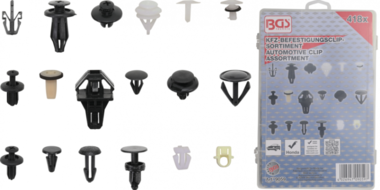 Automotive Clip Assortment for Honda 418 pcs.
