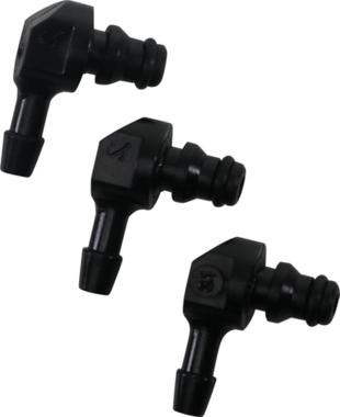 Plastic connector set L-shape 30-digit