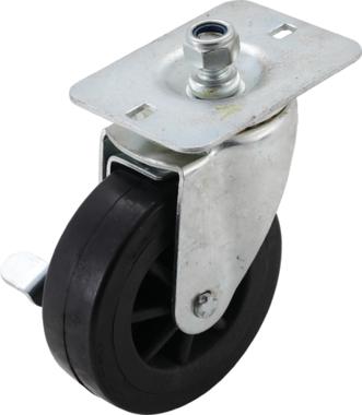 Swivel castor for tool trolley BGS-4105