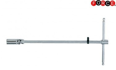 Magnetic spark plug wrench