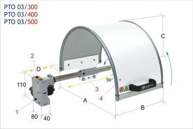 Chuck guard 400x220mm