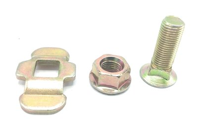 Stud fitting double with bolt 3/8