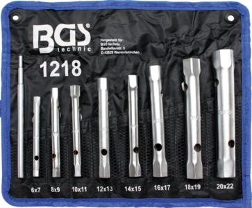 Box Spanner Set 6x7 - 20x22 mm 8 pcs