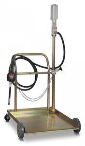 Mobile pneumatic oil pump 180-200 liter, manual gun