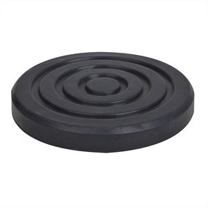Rubber pad for trolley jack