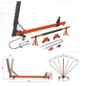 Drawbar 10 tons pivotable