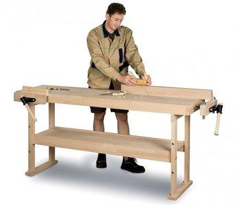 Wooden workbench 1340x500 mm