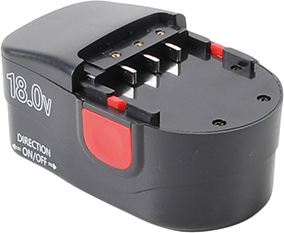 Replacement Battery  Li•Ion  18 V / 2.0 Ah