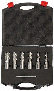 Set of core drills 6-piece 12 - 22mm