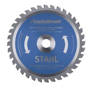 TCT circular saw blades for steel, teeth-48
