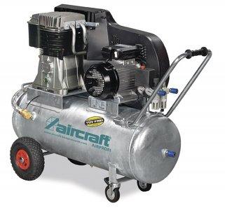 Belt driven oil compressor galvanized boiler 10 bar, 139kg - 200 liters