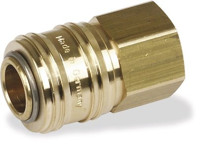 Euro quick coupling with female thread 1/4