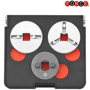 Brake adapter set -- adjustable 3-pcs
