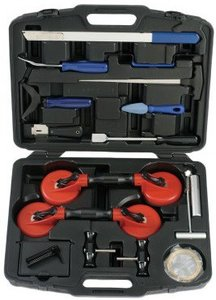 Car glass maintenance kit for the glass 44-piece