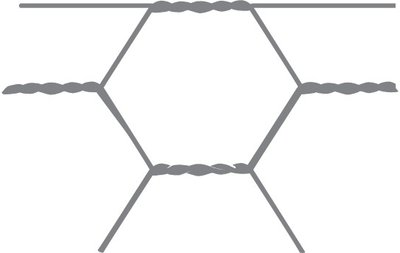 Hexagonal mesh Avigal 13x0.7 150 cm x 25 m
